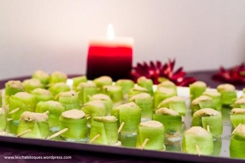 concombre rillette thon