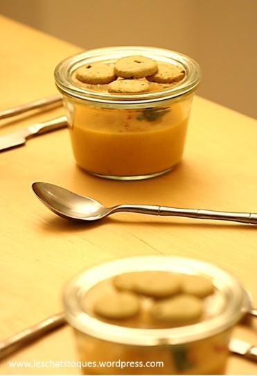 soupe poivron mention X2 pots