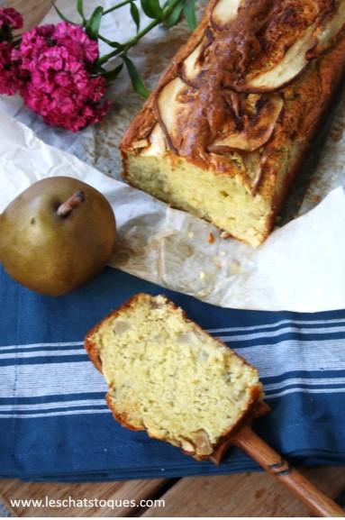 cake poire roquefort mention