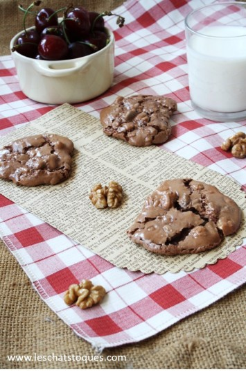 Chocolate puddle cookie mention 1 ok